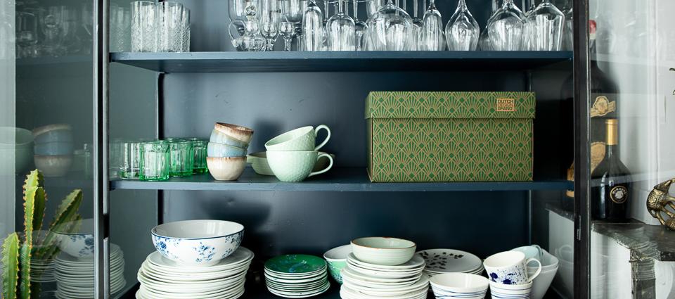 NEW Art Deco Green Velvet Storage Box