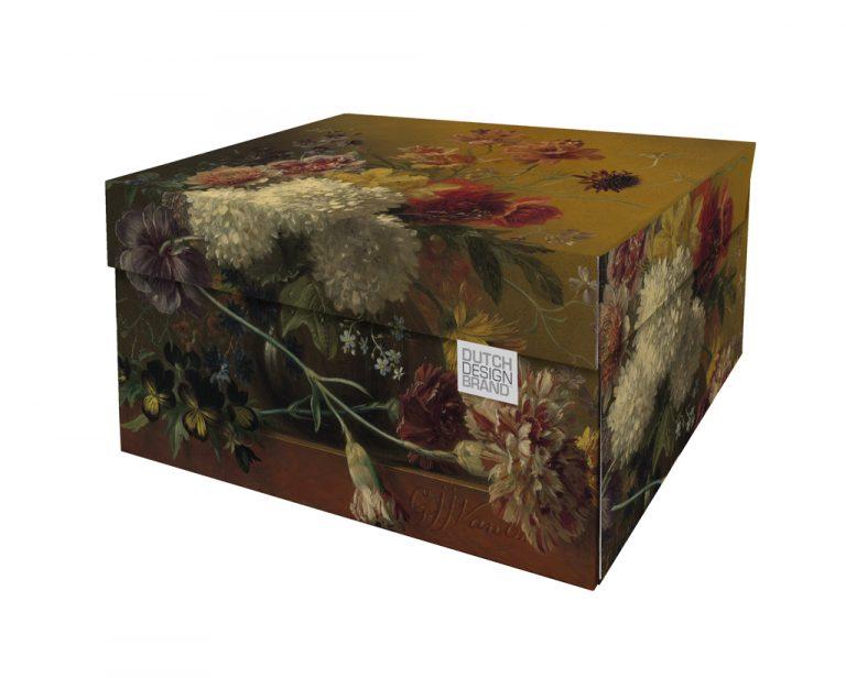 NEW Golden Still Life Storage Box