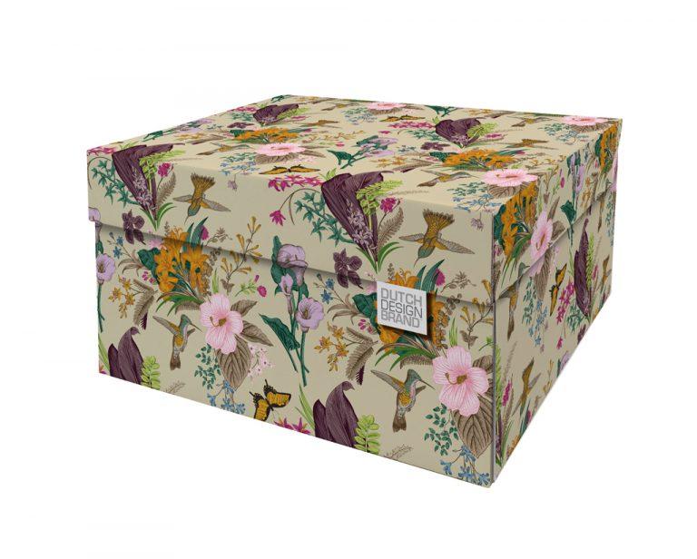 NEW Botanical Storage Box