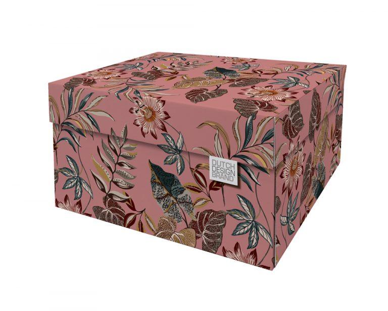NEW Floral Garden Storage Box